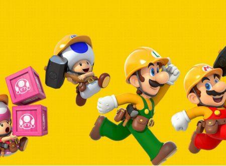 Super Mario Maker 2: nuove informazioni sul titolo, no supporto agli amiibo, multiplayer online solo con random player ed altro