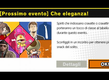 Super Smash Bros. Ultimate: svelato il nuovo l'evento: Che eleganza!