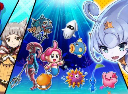 Super Smash Bros. Ultimate: svelato il nuovo l'evento: Un tuffo nell'acqua