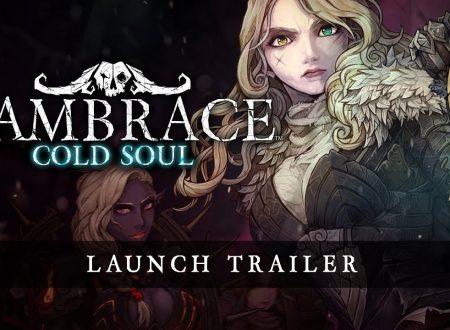 Vambrace: Cold Soul, pubblicato il trailer di lancio dedicato al titolo