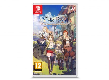 Atelier Ryza: Ever Darkness & the Secret Hideout, il titolo è in arrivo il 1 novembre sui Nintendo Switch europei