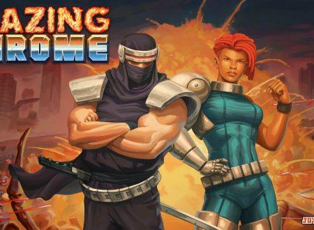 Blazing Chrome: il titolo è in arrivo l'11 luglio sull'eShop di Nintendo Switch