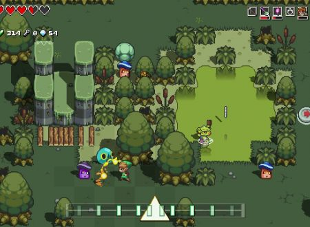 Cadence of Hyrule – Crypt of the NecroDancer: pubblicati dei nuovi screenshots del titolo