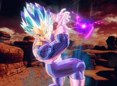 Dragon Ball Xenoverse 2: pubblicate nuove immagini su Super Saiyan God Vegeta