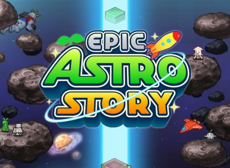 Epic Astro Story: il titolo è in arrivo il 27 giugno sull'eShop di Nintendo Switch