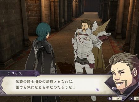 Fire Emblem: Three Houses: l'account Twitter pubblica nuove clip su Alois