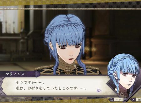 Fire Emblem: Three Houses: l'account Twitter pubblica nuove clip su Marianne