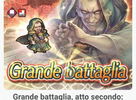 Fire Emblem Heroes: la grande battaglia di Gharnef, Pontefice oscuro – atto secondo è ora disponibile nel titolo