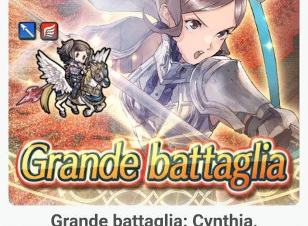 Fire Emblem Heroes: la grande battaglia: Cynthia l'aspirante eroina, è ora disponibile nel titolo