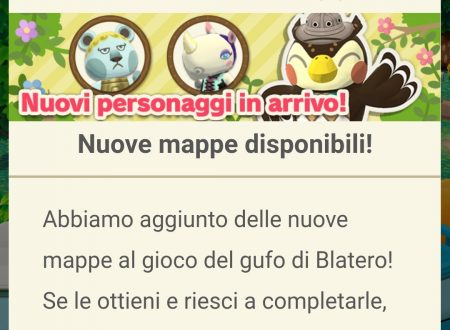 Animal Crossing: Pocket Camp: svelato l'arrivo di Maciste, Roby, Giuliva, Poppy e Celia