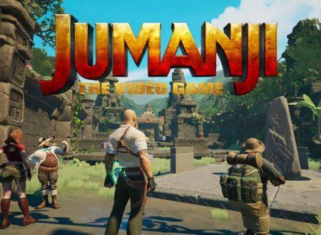 Jumanji: The Video Game, il titolo è in arrivo il 15 novembre su Nintendo Switch