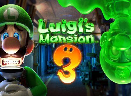 Luigi's Mansion 3: mostrato un nuovo trailer del titolo in arrivo nel 2019 su Nintendo Switch