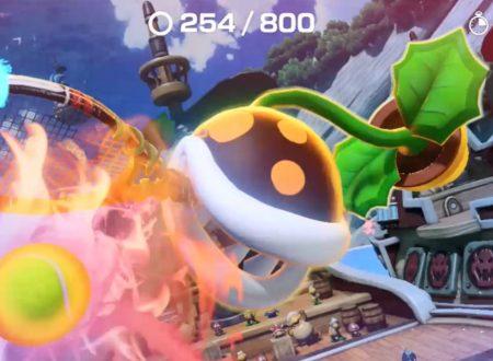 Mario Tennis Aces: uno sguardo in video alla Pianta Piranha falò, ora nel torneo online di giugno