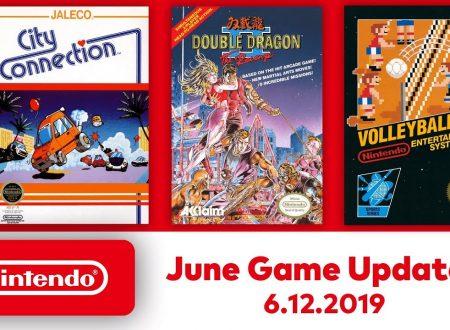 Nintendo Switch Online: Double Dragon II, Volleyball e City Connect sono in arrivo il 12 giugno