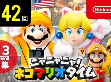 Nyannyan Neko Mario Time: pubblicato l'episodio 141 dello show felino con Mario e Peach