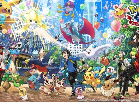 Pokèmon GO: annunciato l'arrivo di eventi per il terzo anniversario del titolo mobile