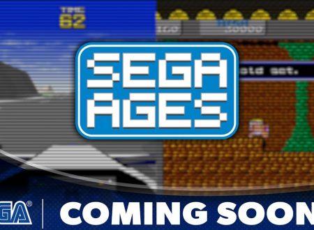 SEGA AGES: Virtua Racing e Wonder Boy sono in arrivo il 27 giugno sui Nintendo Switch europei