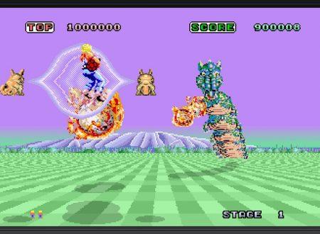 SEGA Ages Space Harrier: il titolo è in arrivo il 27 giugno sui Nintendo Switch giapponesi