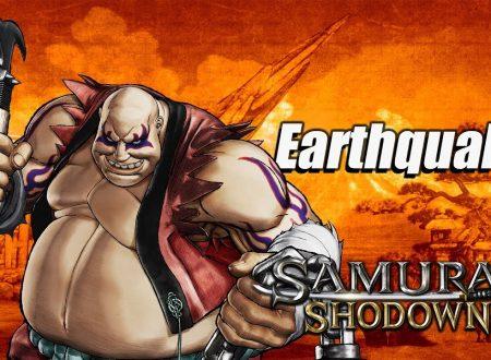 Samurai Shodown: nuovi trailer per Earthquake e Kyoshiro, nuovo video sulla modalità Storia