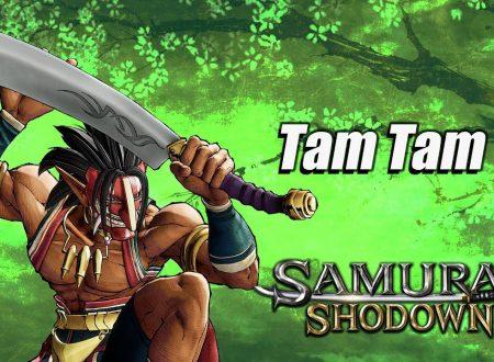 Samurai Shodown: pubblicato un nuovo trailer dedicato a Tam Tam