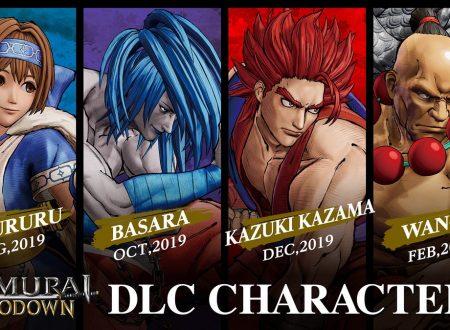 Samurai Shodown: rivelato l'arrivo dei DLC di Rimururu, Kazuki Kazama, Basara e Wan-Fu