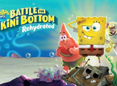 SpongeBob SquarePants: Battle for Bikini Bottom – Rehydrated, il titolo è in arrivo prossimamente su Nintendo Switch