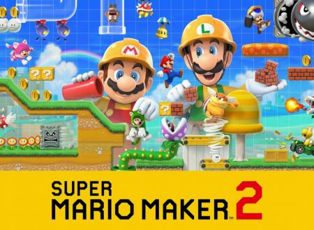 Super Mario Maker 2: il titolo ora disponibile e aggiornato alla versione 1.0.1 sui Nintendo Switch europei