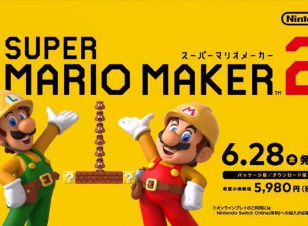Super Mario Maker 2: pubblicati nuovi video commercial giapponesi e inglesi ad una settimana dal lancio