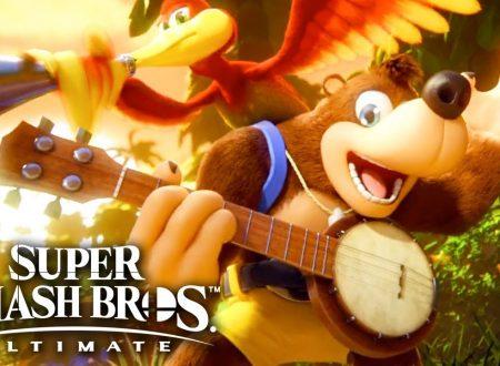 Super Smash Bros. Ultimate: gli eroi di Dragon Quest e Banjo-Kazooie sono in arrivo come personaggi DLC