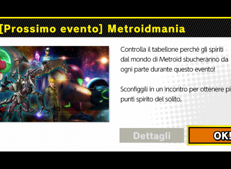 Super Smash Bros. Ultimate: svelato il nuovo l'evento: Metroidmania