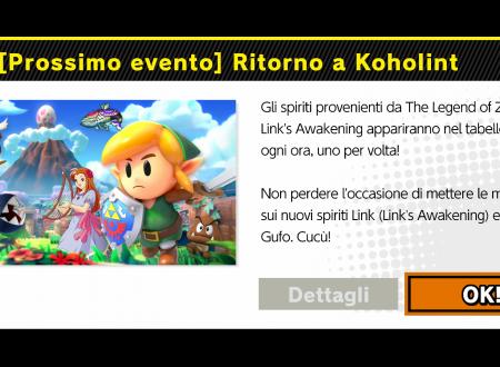 Super Smash Bros. Ultimate: svelato il nuovo l'evento: Ritorno a Koholint