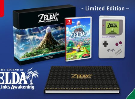 The Legend of Zelda: Link's Awakening, la Limited Edition è ora disponibile sul Nintendo UK Store