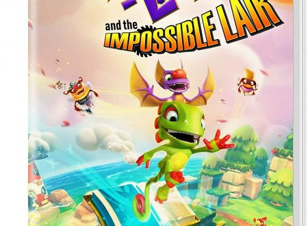 Yooka-Laylee and the Impossible Lair, mostrata la boxart del titolo su Nintendo Switch