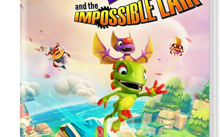 Yooka-Laylee and the Impossible Lair, mostrata la boxart del titolo su Nintendo Switch