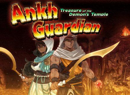 Ankh Guardian – Treasure of the Demon's Temple, uno sguardo in video al titolo dai Nintendo Switch europei