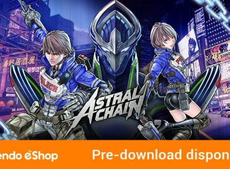 Astral Chain: il titolo è ora in pre-download sull'eShop europeo di Nintendo Switch