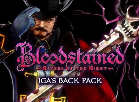 Bloodstained: Ritual of the Night, il DLC Iga's Back Pack è ora disponibile su Nintendo Switch