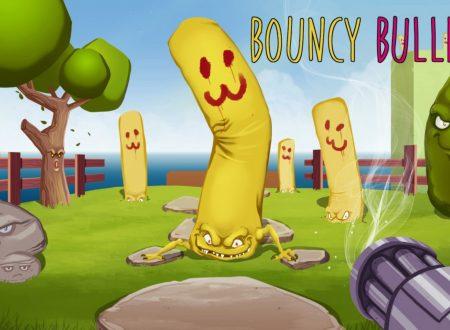 Bouncy Bullets: uno sguardo in video al titolo dai Nintendo Switch europei
