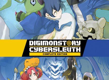 Digimon Story: Cyber Sleuth Complete Edition, il titolo è in arrivo il 18 ottobre su Nintendo Switch