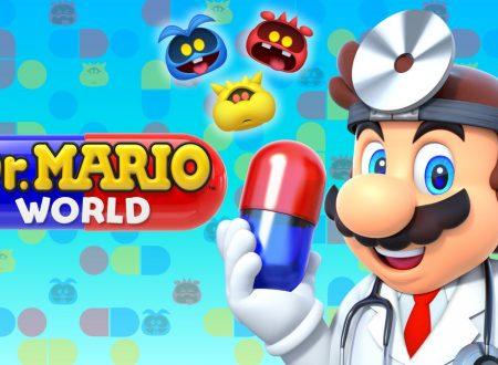 Dr. Mario World: il titolo aggiornato alla versione 1.0.4 su Android e iOS