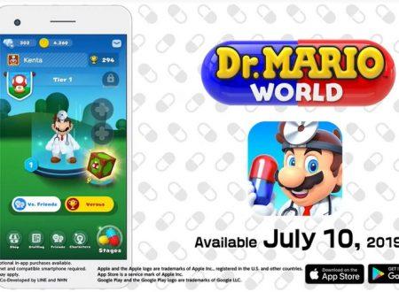 Dr. Mario World: pubblicato un trailer introduttivo dedicato al titolo mobile