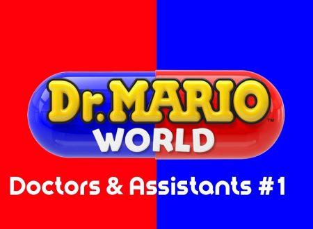 Dr. Mario World: pubblicato un trailer sui dottori e assistenti presenti nel titolo mobile