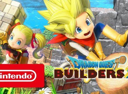 Dragon Quest Builders 2: pubblicato il trailer di lancio del titolo su Nintendo Switch