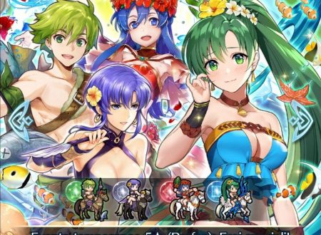 Fire Emblem Heroes: ora disponibili i nuovi eroi speciali: Ristoro estivo