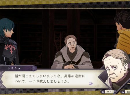 Fire Emblem: Three Houses: l'account Twitter pubblica nuove clip su Tomas