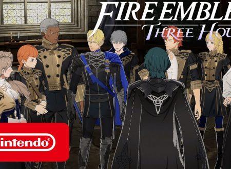 Fire Emblem: Three Houses: pubblicato un trailer americano dedicato alla casata dei Blue Lions