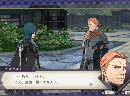 Fire Emblem: Three Houses: l'account Twitter pubblica nuove clip su Gilbert