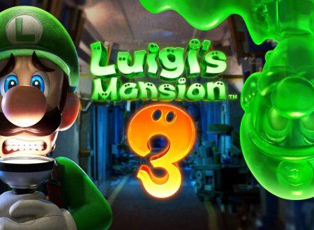 Luigi's Mansion 3: il titolo è in arrivo il 31 ottobre sui Nintendo Switch europei