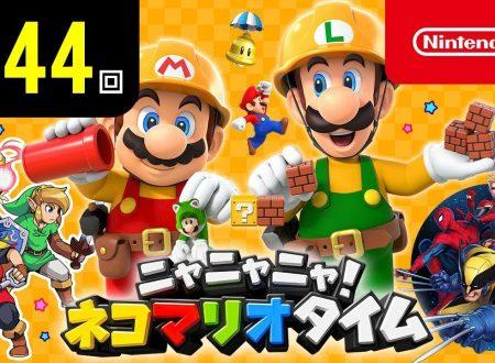 Nyannyan Neko Mario Time: pubblicato l'episodio 144 dello show felino con Mario e Peach