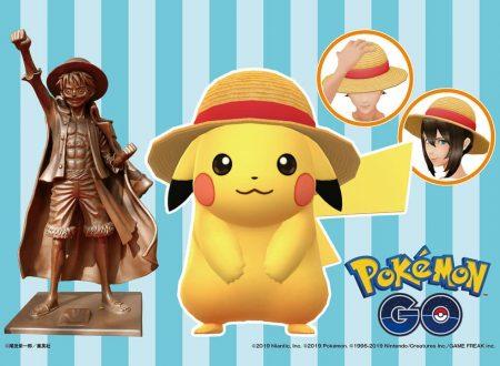 Pokemon GO: svelato un cross-over con One Piece e l'arrivo di un nuovo aggiornamento